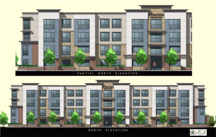 AmberGlen Apartments Render
